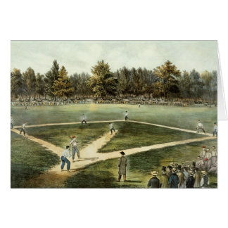 Het Amerikaanse Nationale Spel van Honkbal Kaart