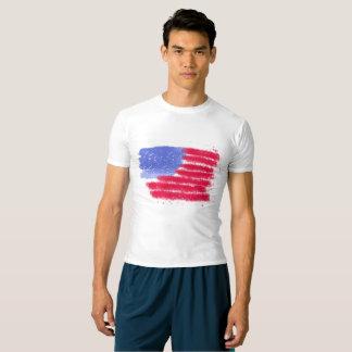 Het Amerikaanse Overhemd van de Compressie van de T Shirts