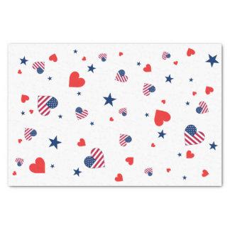 Het Amerikaanse Papieren zakdoekje van de Liefde 25,4 X 38,1 Cm Zijdepapier