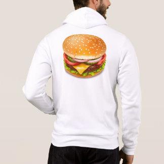 Het Amerikaanse Pit Hoodie van de Hamburger