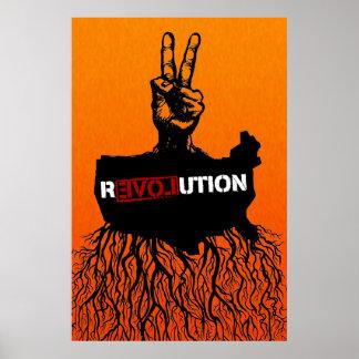 Het Amerikaanse Poster van de Revolutie