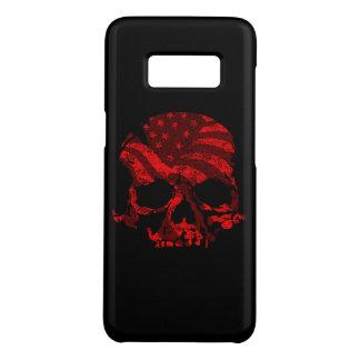 Het Amerikaanse Rood van de Schedel Case-Mate Samsung Galaxy S8 Hoesje