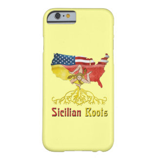Het Amerikaanse Siciliaanse Geval van Smartphone Barely There iPhone 6 Hoesje