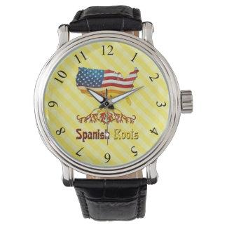 Het Amerikaanse Spaanse Horloge van Wortels