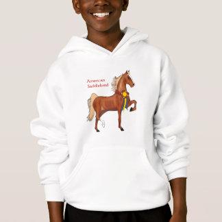 Het Amerikaanse Sweatshirt Met een kap van Meisjes