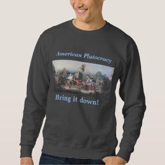 Het Amerikaanse sweatshirt van de Plutocratie