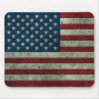 Het Amerikaanse Vlag Verouderde Effect van het Muismatten