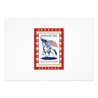 Het Amerikaanse Wenskaart van het Poster van de Da Gepersonaliseerde Uitnodigingen