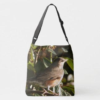 Het Animal Canvas tas van Robin Redbreast Bird