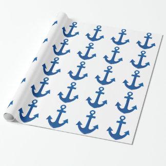 Het Anker van de boot Cadeaupapier