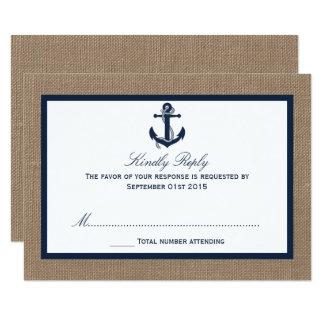 Het anker van de Marine bij het Collectie van het Kaart