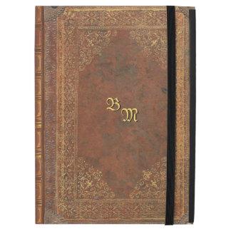 Het antiek Boek kijkt met uw Initialen