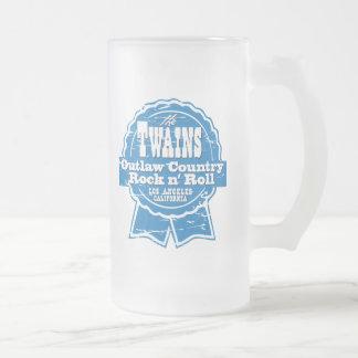 Het apparaat van Drinkin van het Bier TWAINS! Matglas Bierpul