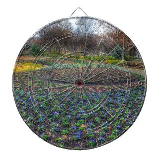 Het Arboretum van Dallas en Botanisch de bloembed Dartbord