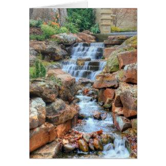 Het Arboretum van Dallas en Botanische Tuin Wenskaart