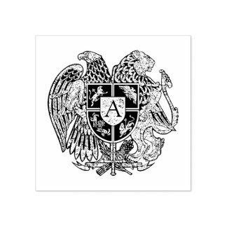 Het Armeense Monogram van het Wapenschild Rubberenstempel