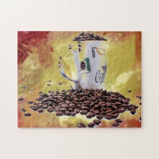Het Aroma van de koffie Puzzel