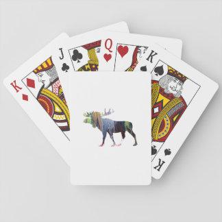 Het Art. van Amerikaanse elanden Pokerkaarten