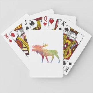 Het Art. van Amerikaanse elanden Speelkaarten