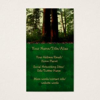 Het Art. van de boom Visitekaartjes