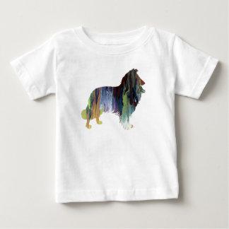 Het Art. van de collie Baby T Shirts