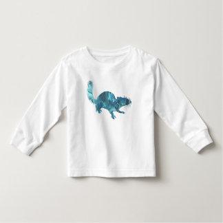 Het art. van de eekhoorn kinder shirts