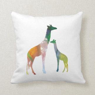 Het Art. van de giraf Sierkussen