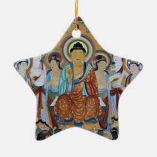 Het Art. van de Holen van Boedha en van Keramisch Ster Ornament