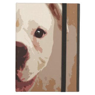 Het Art. van de Hond van de bokser iPad Air Hoesje