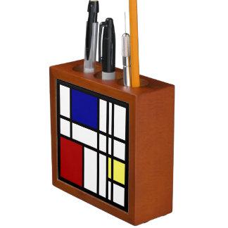 Het Art. van de Indruk van Mondrian Pennenhouder