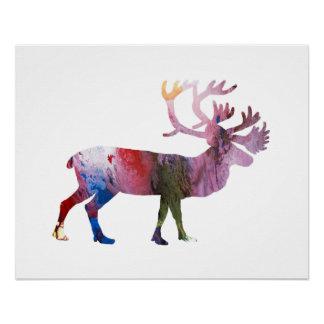 Het art. van de kariboe perfect poster