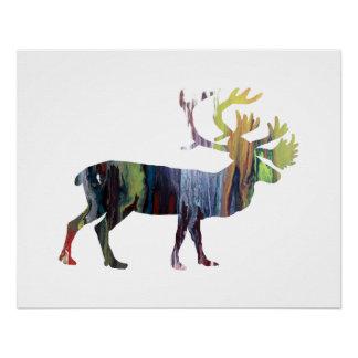 Het art. van de kariboe poster