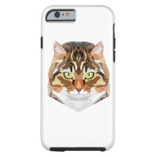 Het Art. van de kat Tough iPhone 6 Hoesje