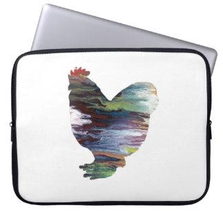 Het Art. van de kip Computer Sleeve