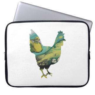 Het Art. van de kip Laptop Sleeve
