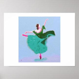 Het Art. van de Kleding van het ballet Poster