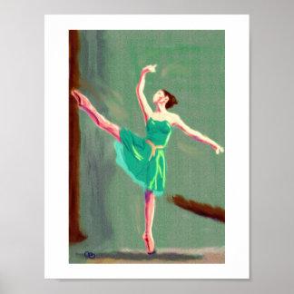 Het Art. van de Liefde van het ballet Poster