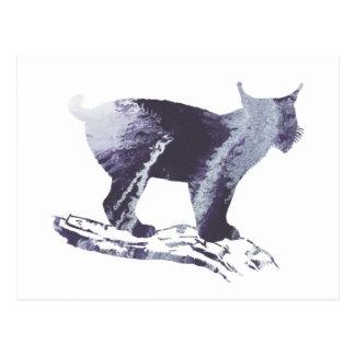 Het Art. van de lynx Briefkaart