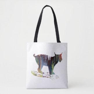 Het Art. van de lynx Draagtas