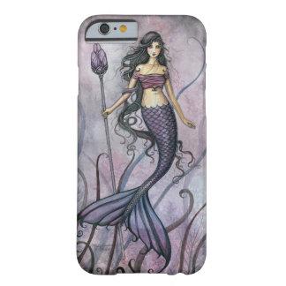 Het Art. van de Meermin van de violetkleurige Barely There iPhone 6 Hoesje