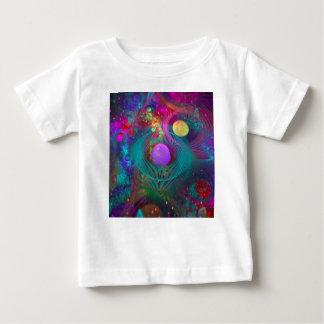 Het Art. van de melkweg Baby T Shirts
