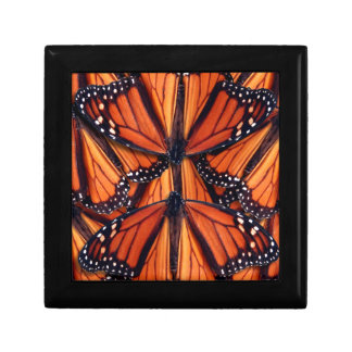 het art. van de monarchvlinder decoratiedoosje