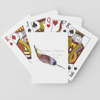 Het Art. van de narwal Pokerkaarten
