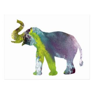 Het Art. van de olifant Briefkaart