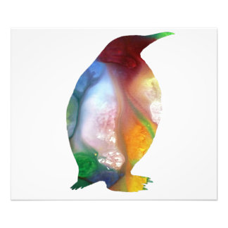 Het Art. van de pinguïn Foto Afdrukken