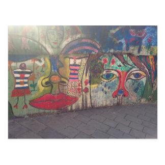 Het Art. van de straat Briefkaart