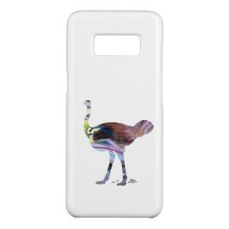 Het art. van de struisvogel Case-Mate samsung galaxy s8 hoesje