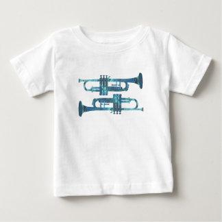 Het Art. van de trompet Baby T Shirts