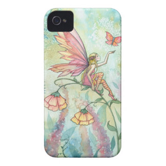 Het Art. van de Vlinder van de Fee van de Fantasie iPhone 4 Hoesje