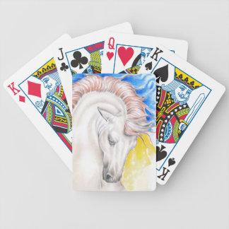Het Art. van de Waterverf van het paard Poker Kaarten